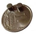 Беспроводной микронаушник с кнопкой кашлялкой